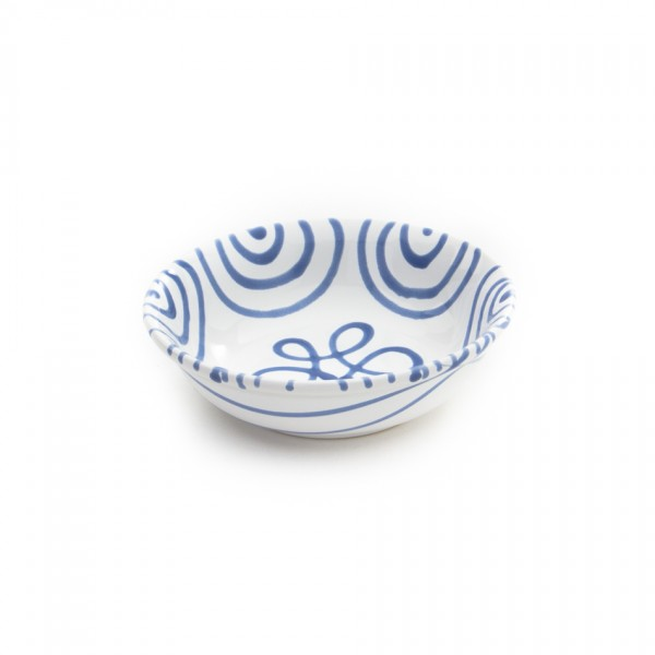 Gmundner Keramik Blaugeflammt Kompottschale (SAKO14) 14 cm