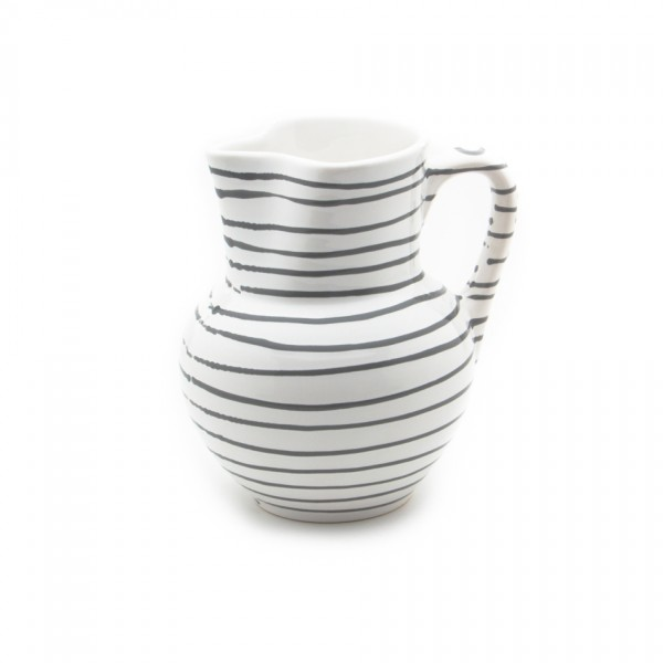 Gmundner Keramik Graugeflammt Krug Wiener Form (KRWF09) 1 l