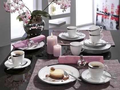 Friesland La Belle, Black & White Kaffee-Set 18-tlg.