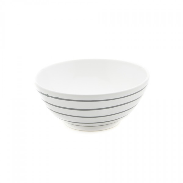 Gmundner Keramik Graugeflammt Schüssel rund (SUSE20) 20 cm