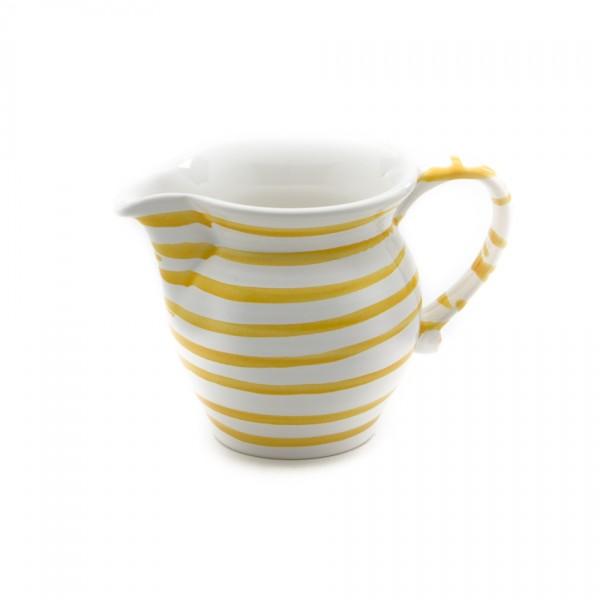 Gmundner Keramik Gelbgeflammt Milchgießer glatt (GMGL07) 0,5 l