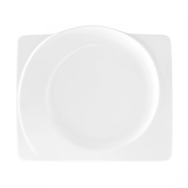 Seltmann Paso weiß Frühstücksteller eckig 25 cm