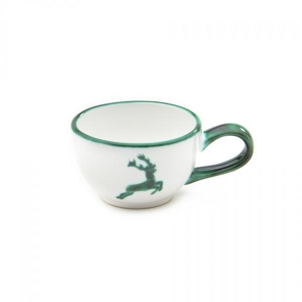 Gmundner Keramik Grüner Hirsch Espresso-Obertasse (TMGL07) 0,18 l
