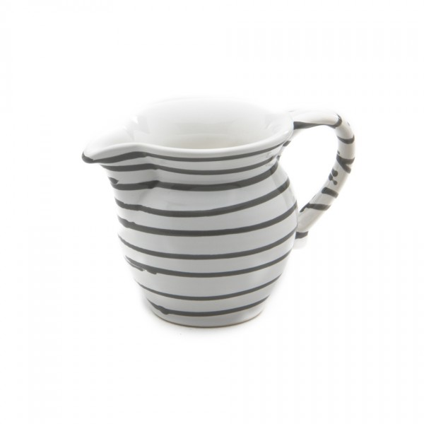 Gmundner Keramik Graugeflammt Milchgießer glatt (GMGL07) 0,5 l