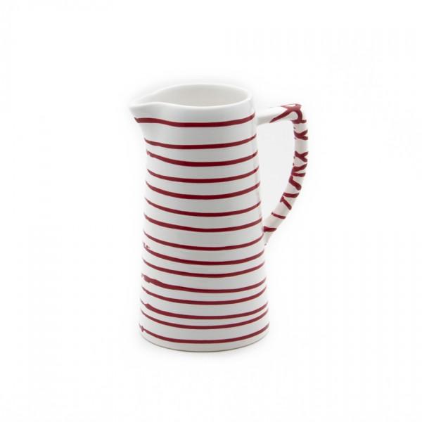 Gmundner Keramik Rotgeflammt Wasserkrug (KRWA10) 1,2 l