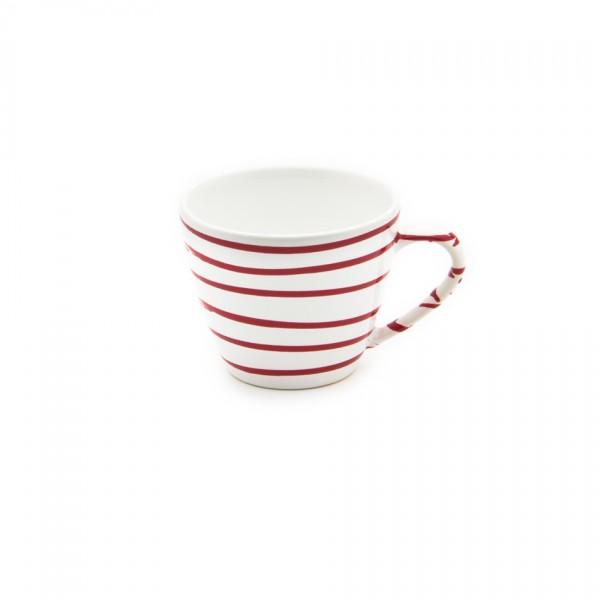 Gmundner Keramik Rotgeflammt Kaffeeobere Gourmet (TKGO09) 0,2 l
