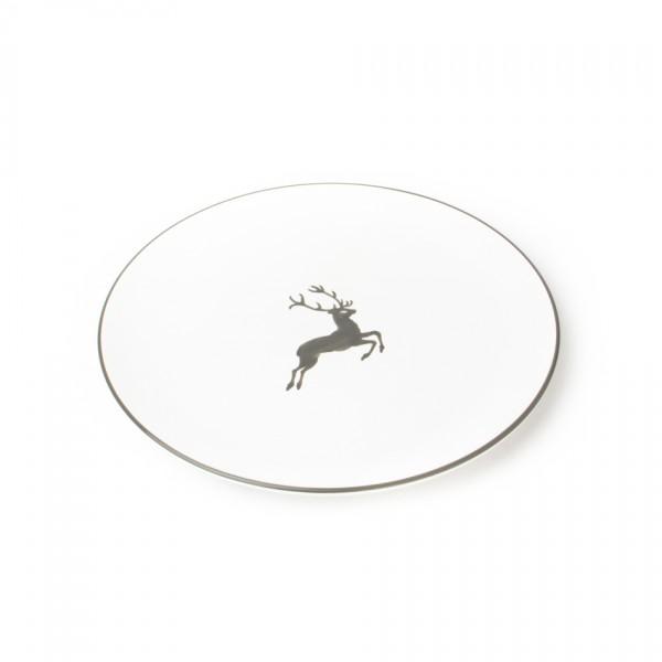 Gmundner Keramik Grauer Hirsch Gourmetteller/Platzteller Cup (TFCU32) 32 cm