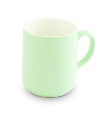 Friesland Trendmix Becher Pastellgrün innen weiss 0,4l