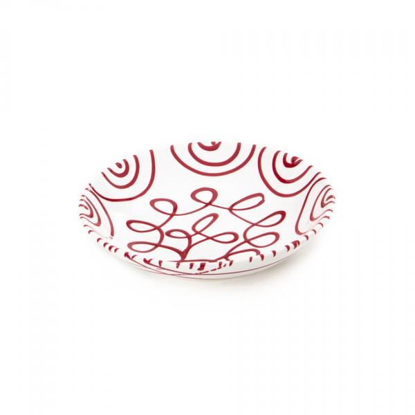 Gmundner Keramik Rotgeflammt Suppenteller Cup classic (TSCU20) 20 cm