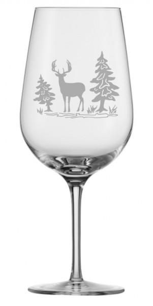 Eisch Jagdgläser Weissweinglas (3) Hirsch 21cm 360 ml
