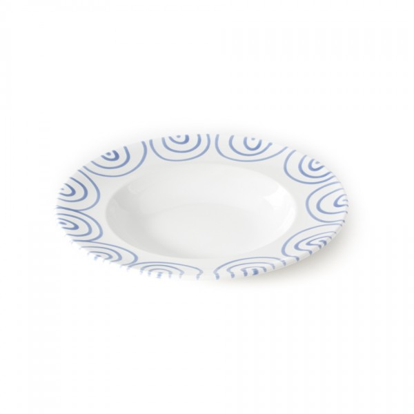 Gmundner Keramik Blaugeflammt Pastateller Gourmet (TEGO29) 29 cm
