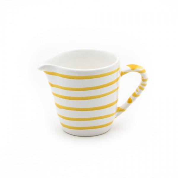 Gmundner Keramik Gelbgeflammt Milchgießer Gourmet (GMGO05) 0,2 l
