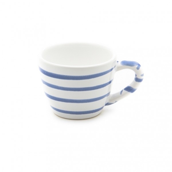 Gmundner Keramik Blaugeflammt Espresso-Obertasse Gourmet (TEGO06) 0,06 l
