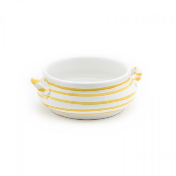 Gmundner Keramik Gelbgeflammt Suppen-Obertasse (SASU13) 0,37 l