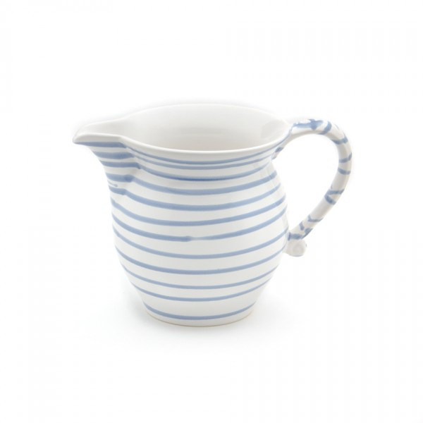 Gmundner Keramik Blaugeflammt Milchgießer glatt (GMGL09) 1 l