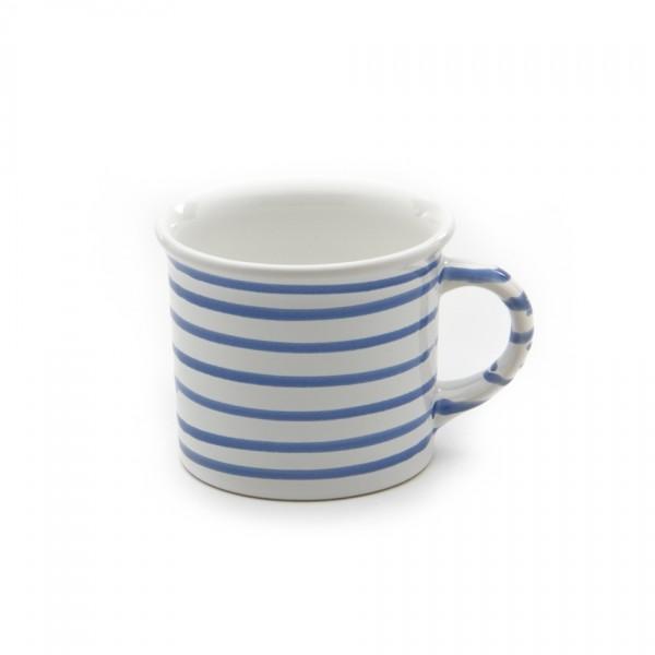 Gmundner Keramik Blaugeflammt Häferl glatt classic (HKGL09) 0,24 l