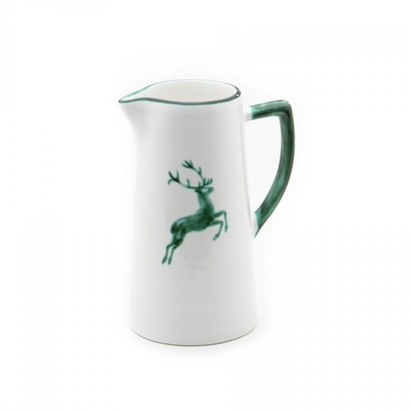 Gmundner Keramik Grüner Hirsch Wasserkrug (KRWA07) 0,7 l