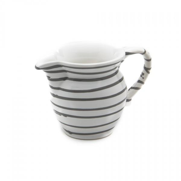Gmundner Keramik Graugeflammt Milchgießer glatt (GMGL05) 0,3 l