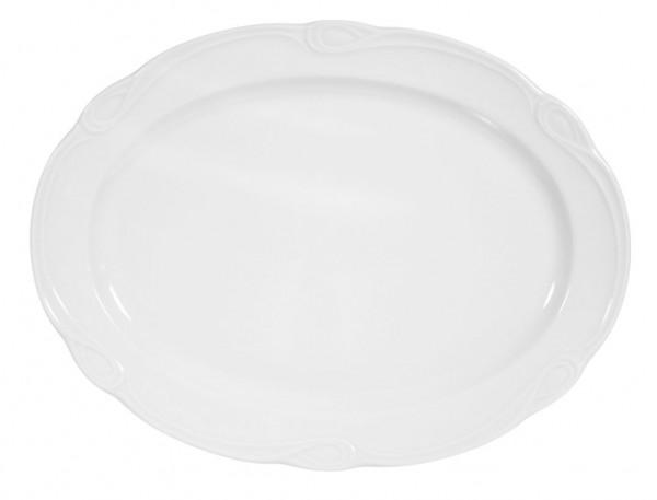 Seltmann Desiree weiß Platte oval 31 cm