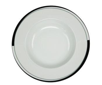 Friesland La Belle Black & White Suppenteller 22 cm