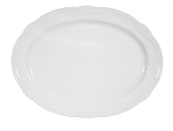Seltmann Desiree weiß Platte oval 35 cm