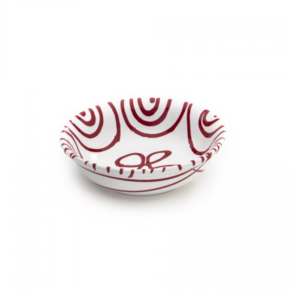 Gmundner Keramik Rotgeflammt Kompottschale (SAKO14) 14 cm