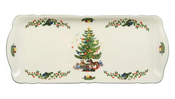 Seltmann Marie-Luise Weihnachten Kuchenplatte rechteckig 35 cm