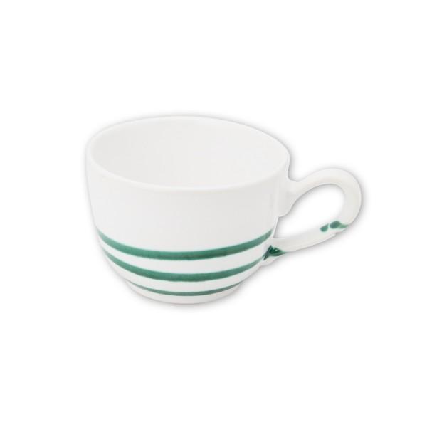 Gmundner Keramik Pur Geflammt Grün Kaffeetasse glatt TKGL10 0,19 l
