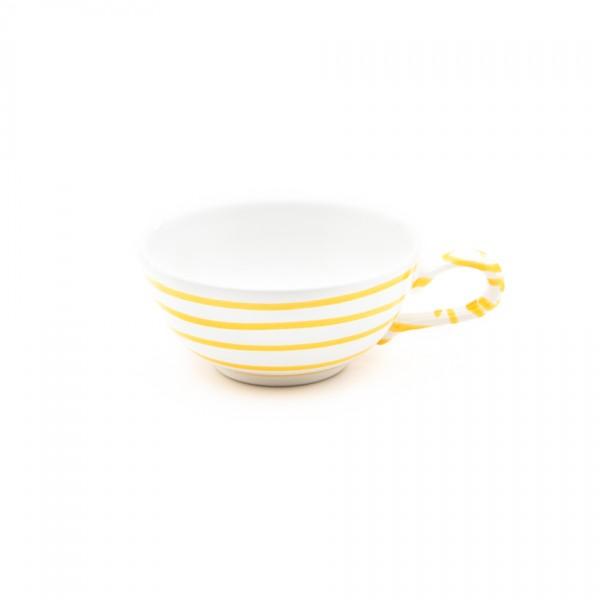 Gmundner Keramik Gelbgeflammt Tee-Obertasse glatt classic (TTGL11) 0,17 l