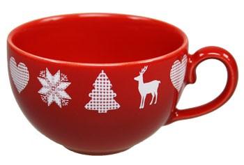 Friesland Happymix Winterzauber Kaffee-Obere rot 0,24 l