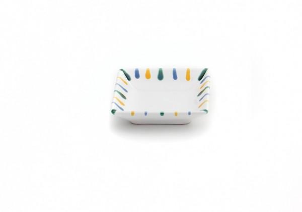 Gmundner Keramik Buntgeflammt Snack-Schale SASN11 11 x 11cm