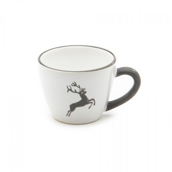 Gmundner Keramik Grauer Hirsch Espresso-Obertasse Gourmet (TEGO06) 0,06 l