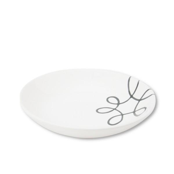 Gmundner Keramik Pur Geflammt Grün Suppenteller TSCU20 20 cm
