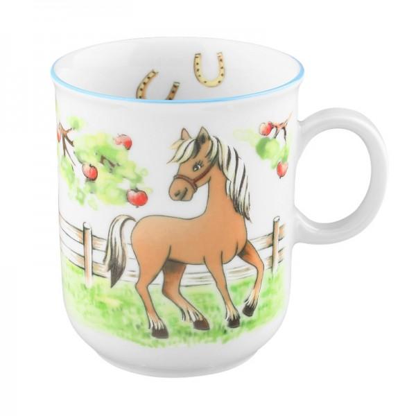 Kindergeschirre Seltmann, Mein Pony 24778 Becher mit Henkel 0,25 l