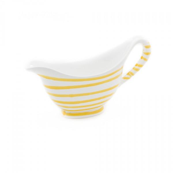 Gmundner Keramik Gelbgeflammt Sauciere (SVGO18) 0,2 l