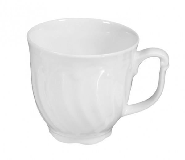 Seltmann Leonore weiß uni 7 Kaffee-Obertasse 0,21 l