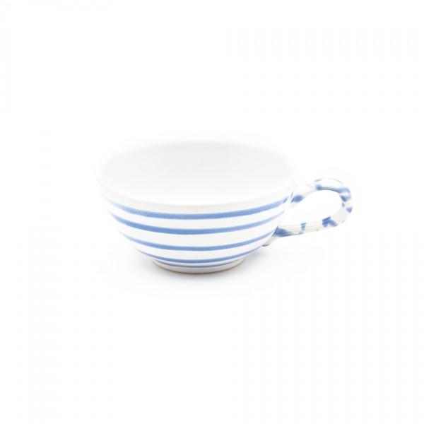 Gmundner Keramik Blaugeflammt Tee-Obertasse glatt classic (TTGL11) 0,17 l