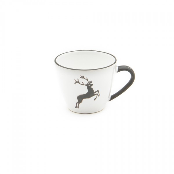Gmundner Keramik Grauer Hirsch Kaffeeobere Gourmet (TKGO09) 0,2 l