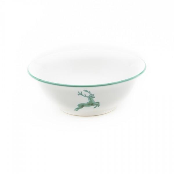 Gmundner Keramik Grüner Hirsch Salatschüssel rund (SRSA20) 20 cm