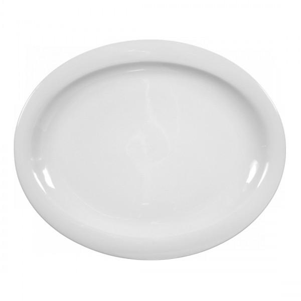 Seltmann Top Life uni weiß Platte oval 31,5 cm