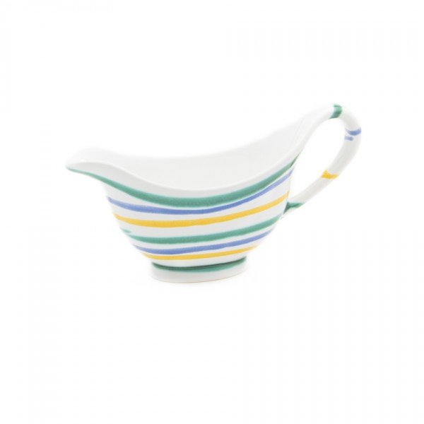 Gmundner Keramik Buntgeflammt Sauciere SVGO18 0,2l