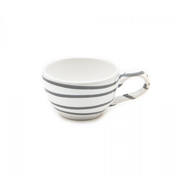 Gmundner Keramik Graugeflammt Espresso/Mokka-Obertasse glatt classic (TMGL07) 0,06 l