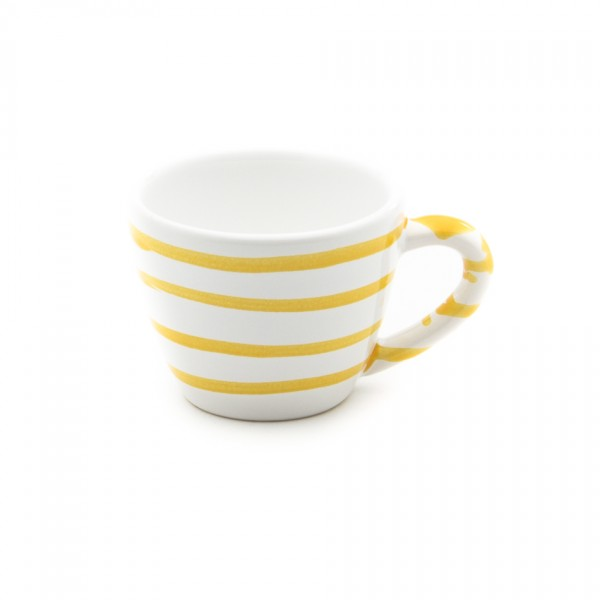 Gmundner Keramik Gelbgeflammt Espresso-Obertasse Gourmet (TEGO06) 0,06 l
