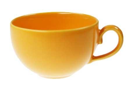 Friesland HappyMix Safrangelb Kaffeeobere uni 0,24 l