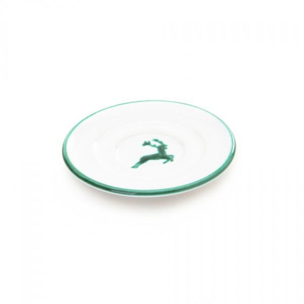 Gmundner Keramik Grüner Hirsch Espresso-Untertasse Gourmet (TUGO11) 11 cm