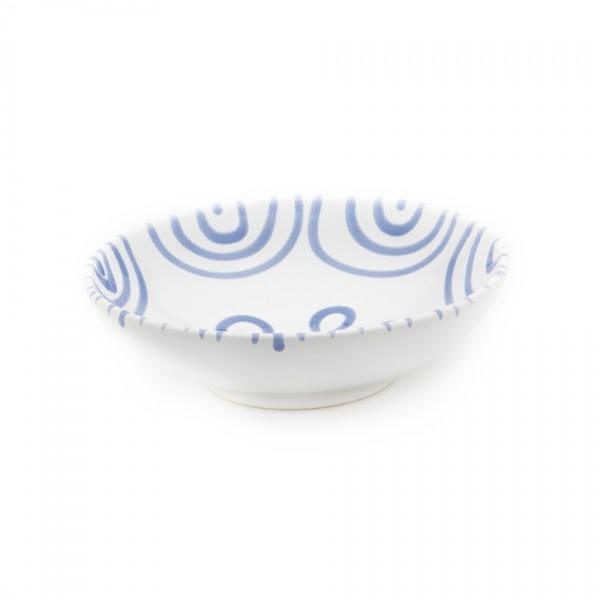 Gmundner Keramik Blaugeflammt Salatschale (SASA17) 17 cm