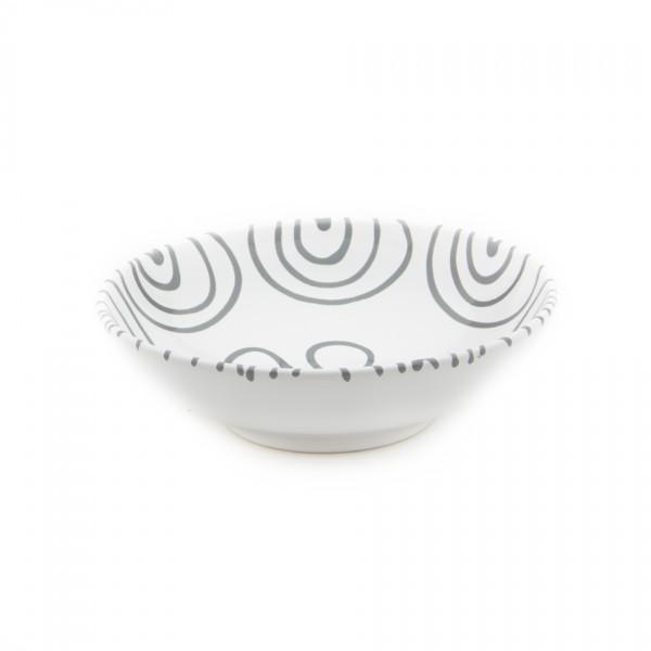 Gmundner Keramik Graugeflammt Salatschale (SASA17) 17 cm