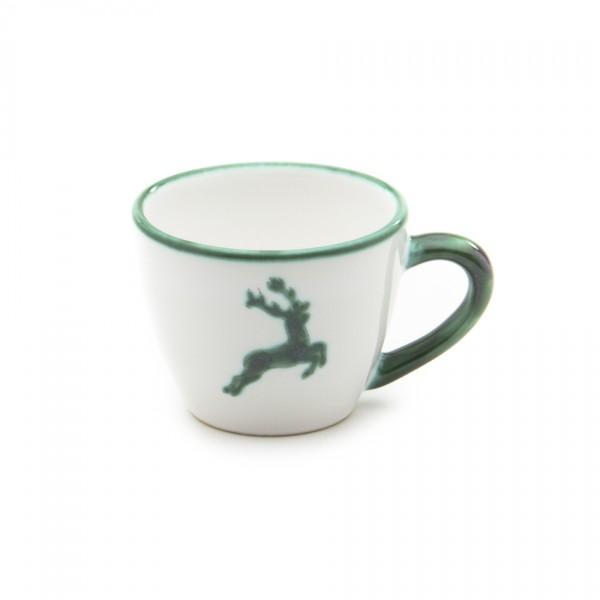 Gmundner Keramik Grüner Hirsch Espresso-Obertasse Gourmet (TEGO06) 0,06 l