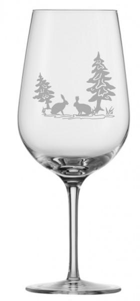 Eisch Jagdgläser Rotweinglas (2) Hase 22cm 430 ml