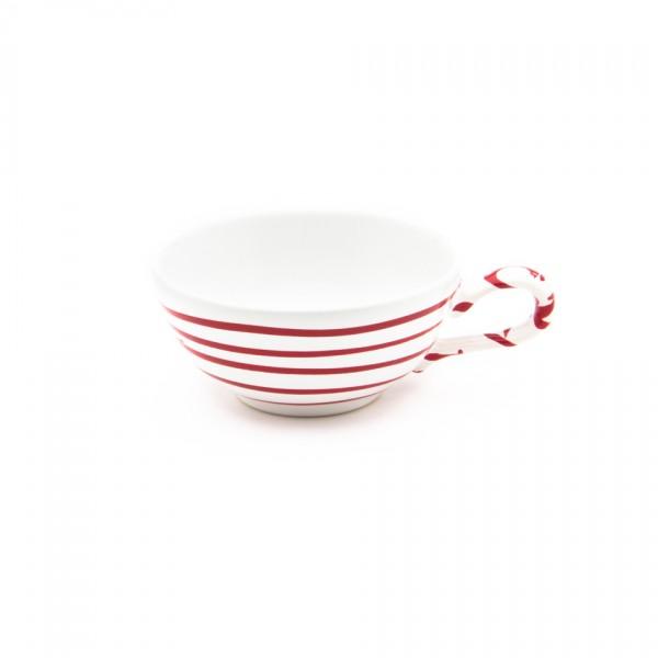 Gmundner Keramik Rotgeflammt Tee-Obertasse glatt classic (TTGL11) 0,17 l